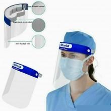 Visiera di protezione viso schermo protettiva trasparente plexiglass paraschizzi