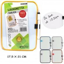 Lavagna magnetica Bianca con pennarello cancellino lavagnetta arredo bambini