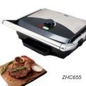 Bistecchiera piastra elettrica griglia 2000W Zephir 655 tostapane antiaderente
