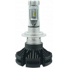 Coppia lampade ricambio auto LED 7S H7 bianco 6000K fari 50W lampadine veicoli