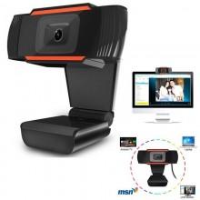 Webcam 480P alta definizione PC cam USB Rete Videocamera Microfono incorporato