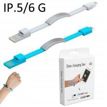 Cavo dati USB 2.0 caricatore braccialetto lightning jack compatibile adattatore