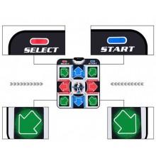 Tappeto da ballo USB danza tv controller gioco antiscivolo ABS plastica leggero