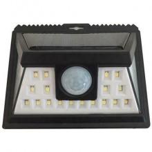 Faro luce faretto esterno energia solare 24 LED sensore movimento crepuscolare