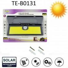 Lampada faro luce faretto esterno energia solare 60W led COB sensore movimento
