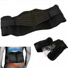 Cintura terapeutica lombare supporto schiena taglia S/M rapido sollievo sostegno