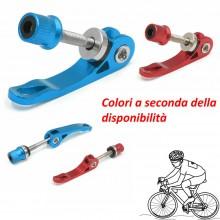 Sgancio rapido sellino bici sport ciclismo reggi alluminio regolabile morsetto