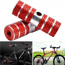 Pedane bici poggiapiedi asse anteriore posteriore ciclismo 11 x 2,3 cm accessori