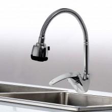 Rubinetto miscelatore casa cucina lavanderia design moderno arredamento 2 getti