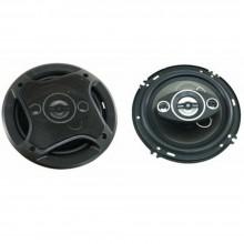 Doppia cassa auto impianto audio 500 W woofer 16 cm altoparlanti speaker stereo