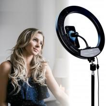 Anello luminoso LED treppiedi 2 M fotografia cellulare video live streaming luce