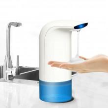 Distributore spray automatico schiuma portasapone liquido disinfettante casa