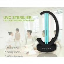 Lampada UV sterilizzatore luce ultra violetta germicida germi ozono telecomando