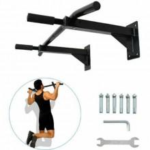 Barra trazioni muro casa palestra allenamento sport attrezzo sbarra parete corpo