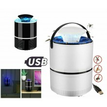 Aspiratore zanzare portatile USB lampada insetti ecologico zanzariera elettrica