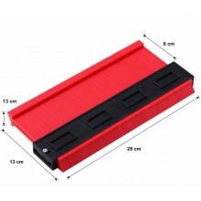 Metro misurazione profilazione angoli superfici squadrate tonde misurazione 25cm