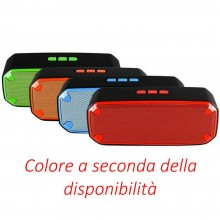 Cassa bluetooth portatile ricaricabile musica telefono tablet bt 4.2 speaker 3 W