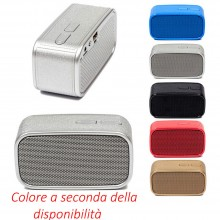 Cassa portatile bluetooth ricaricabile USB dispositivo audio speaker musica FM