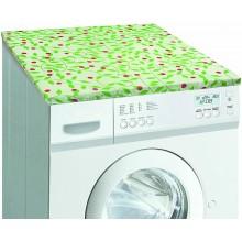 Telo copri lavatrice doppio strato mollettone elasticizzato misura unica casa