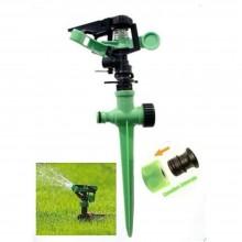 Irrigatore a settore in plastica giardino prato erba puntale bilanciere battente