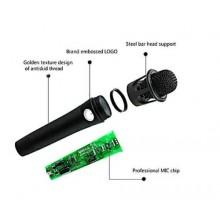 Kit microfono cardoide condensatore cavalletto auricolari mixer effetti mic cavo