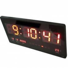 Orologio digitale a LED da parete con datario temperatura e lettura nitida. 45x22x3 CM