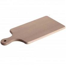 Tagliere piano in legno naturale tagliare verdura carne preparazione casa cucina