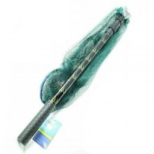 Retino da pesca guadino telescopico pieghevole 150 cm pesca accessori sport rete