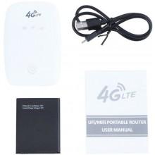 Router WiFi portatile 150 Mbps 4G mobile supporto sim card hotspot LTE modem USB