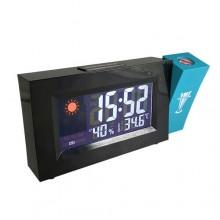 Orologio sveglia con proiettore temperatura ora proiezione calendario digitale