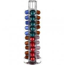 Stand portacialde cialde capsule verticale caffè base rotante supporto 40 posti