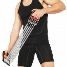 Estensore 5 molle acciaio allenamento braccia spalle petto trazioni casa acciaio