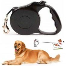 Guinzaglio allungabile estensibile retrattile max 8M corda blocco passeggio cane