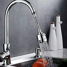 Filtro rubinetto rompi getto rubinetteria flessibile acciaio adattatore lavello