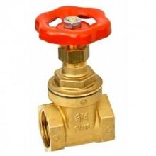 Valvola in ottone chiusura 3/4 saracinesca rubinetto acqua chiusura PN16 acqua