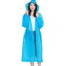 Poncho impermeabile per pioggia mantella pesca ciclismo caccia anti pioggia blu