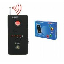 Rilevatore di microspie bonifica cimici telecamere spy wireless e cablate CC308+