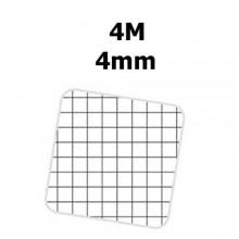 5x Quaderni a spirale fogli MONOCROMO Pigna A4 tinta unita quadretti 4mm - 4M