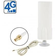 Antenna 4G omnidirezionale cavo 2M ventosa reti mobile W425 banda larga 25dbi