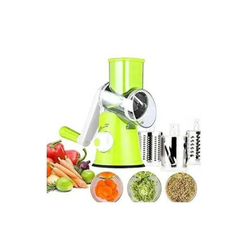 Taglia e trita verdure manuale affetta contenitore multifunzione 3 lame cucina