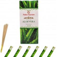 120x Bastoncini di incenso Aloe vera 6 pacchetti profumo ambiente aroma purifica