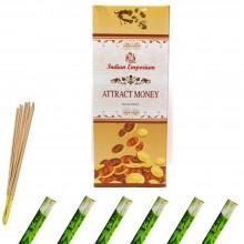 120x Bastoncini incenso attrai soldi 6 pacchetti profumo ambiente aroma purifica