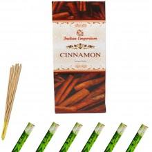 120x Bastoncini incenso cannella 6 pacchetti profumo ambiente aroma purifica