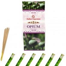120x Bastoncini incenso opium 6 pacchetti profumo ambiente aroma purifica