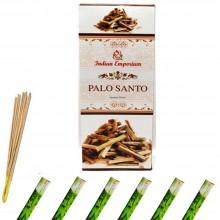 120x Bastoncini incenso palo santo 6 pacchetti profumo ambiente aroma purifica