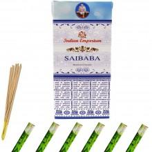 120x Bastoncini incenso saibaba 6 pacchetti profumo ambiente aroma purifica