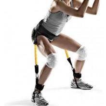 Fitness corda training fascia elastica bande elastiche di resistenza allenamento