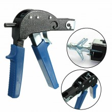 Pinza per profili pistola tasselli a espansione profili in cartongesso 16 Cm blu