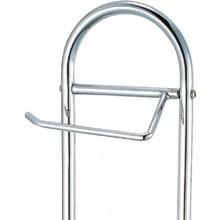 Porta scopino e carta igienica arredamento bagno 64,5x20,5Cm portarotolo moderno