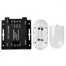 Telecomando e centralina per striscia Led RGB 12/24 DC - Telecomando con funzioni touch per cambio colore e tonalità